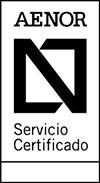 AENOR Servicio Certificado